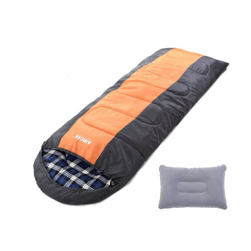 Camping Sleeping Bag with Pillow Tips for Campers