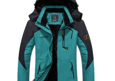 WantDo Women's Waterproof Mountain Jacke 3t