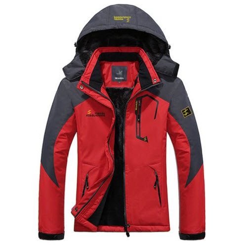 WantDo Women's Waterproof Mountain Jacket