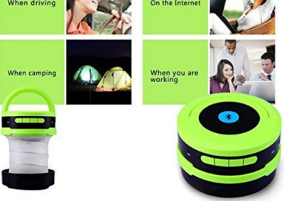 Bluetooth Outdoor Wireless Handfree Calling Speaker 5