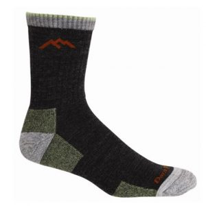 Wool Micro Crew Cushion Hiking Socks